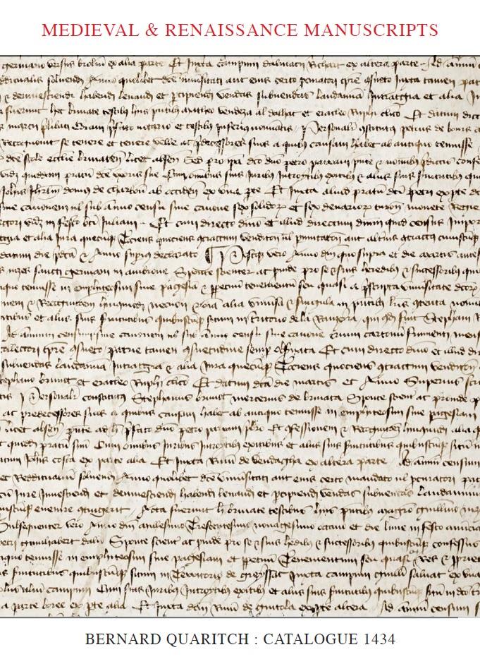 Medieval & Renaissance Manuscripts