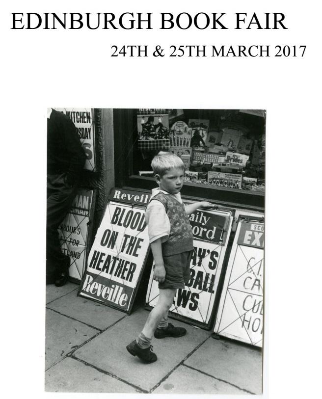 Edinburgh Book Fair List 2017