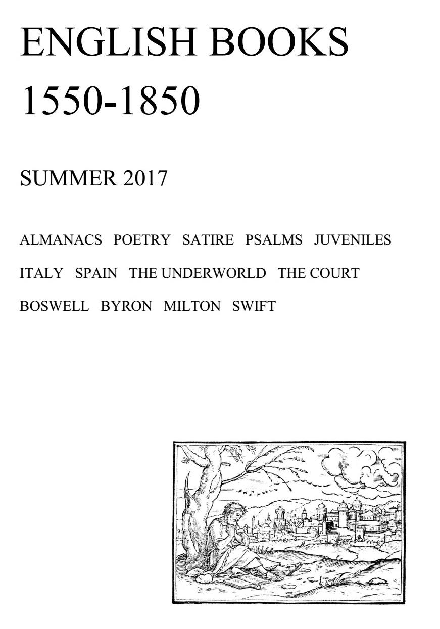 English Books 1550-1850