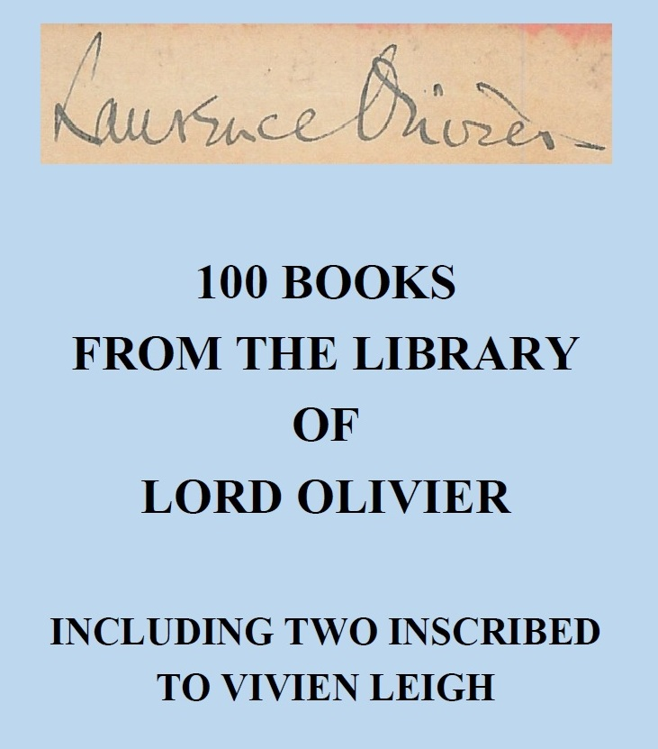 100 Books from the Library of Lord Olivier
