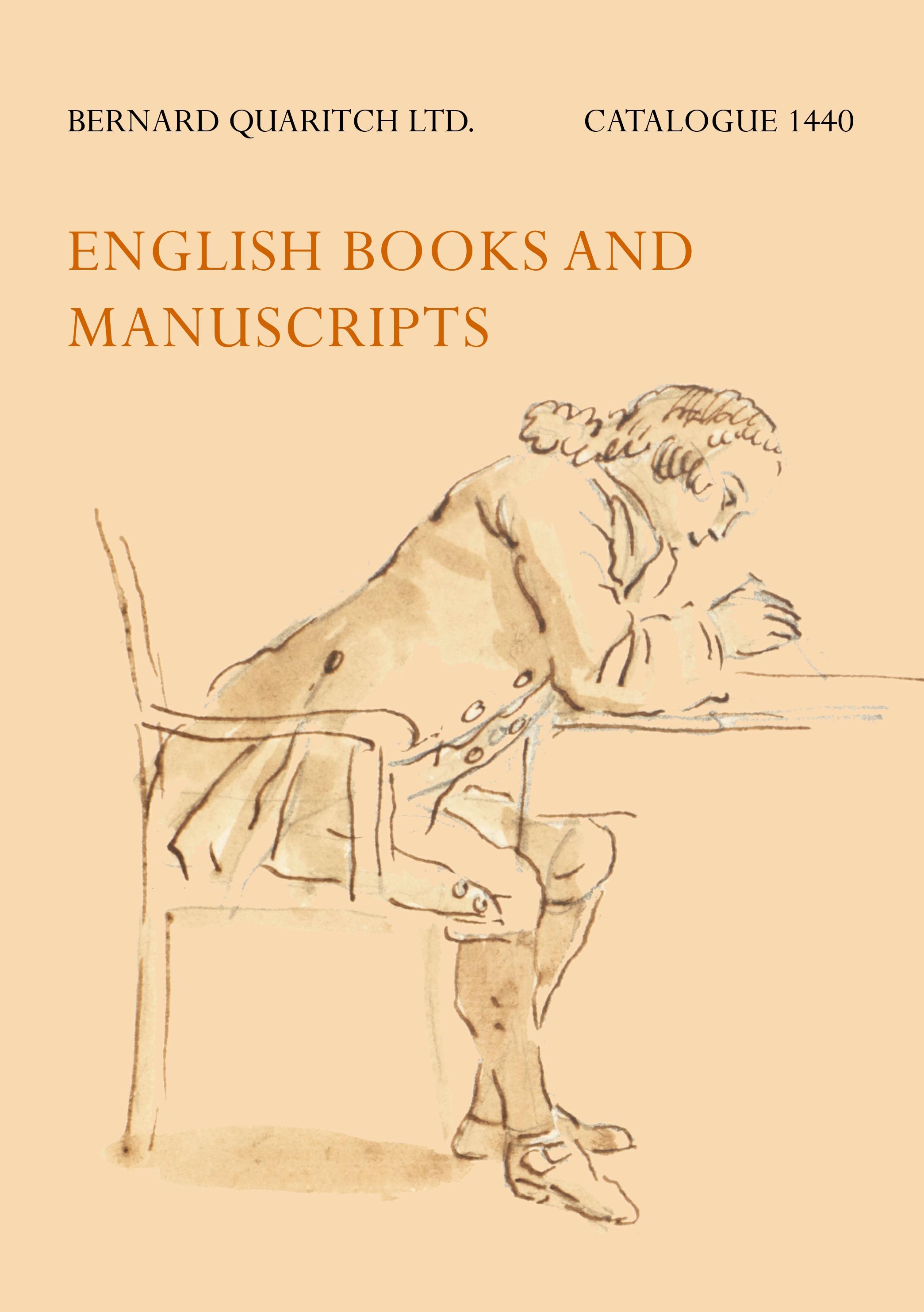 1440 - English Books and Manuscripts