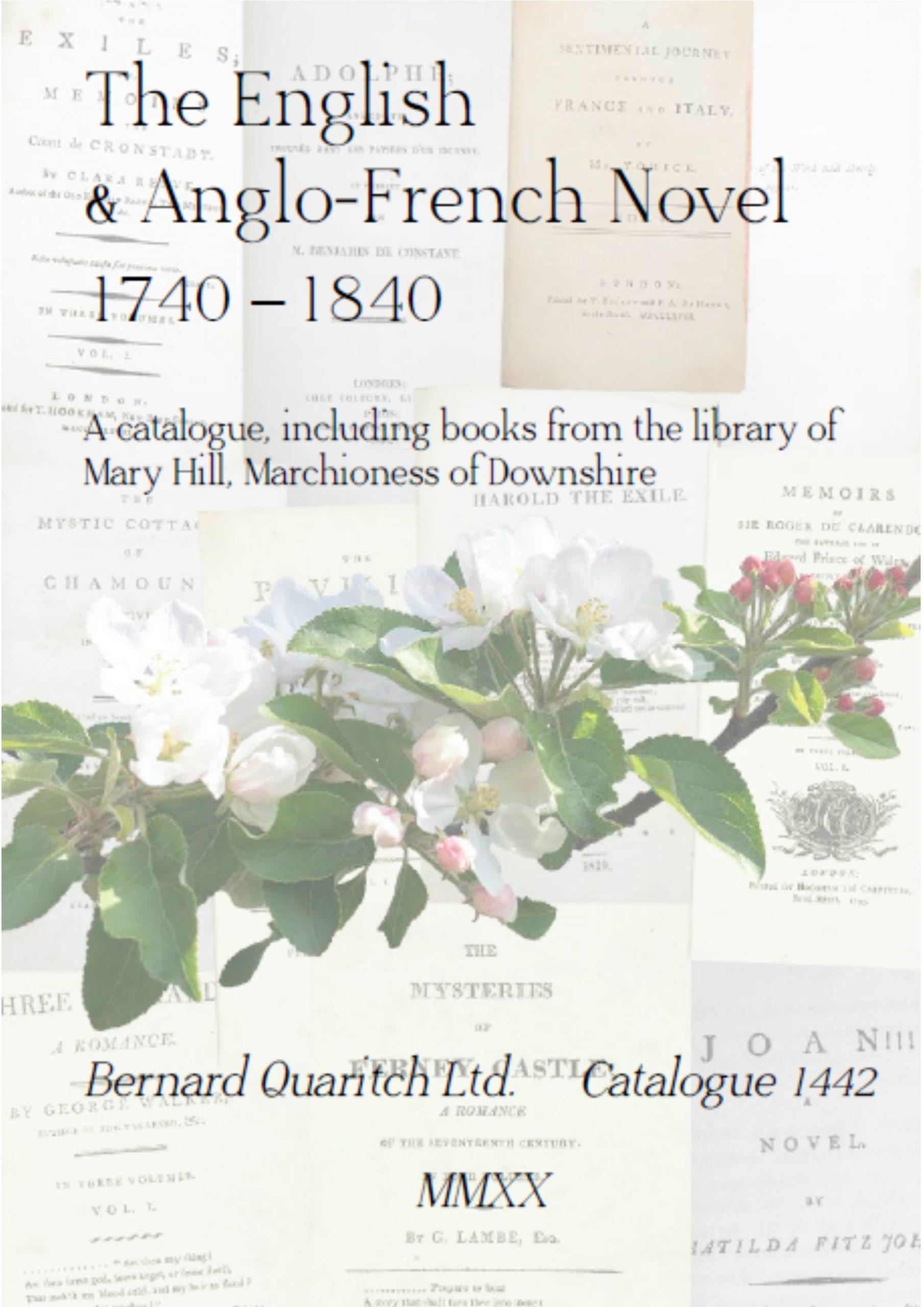 1442 - The English & Anglo-French Novel, 1740-1840