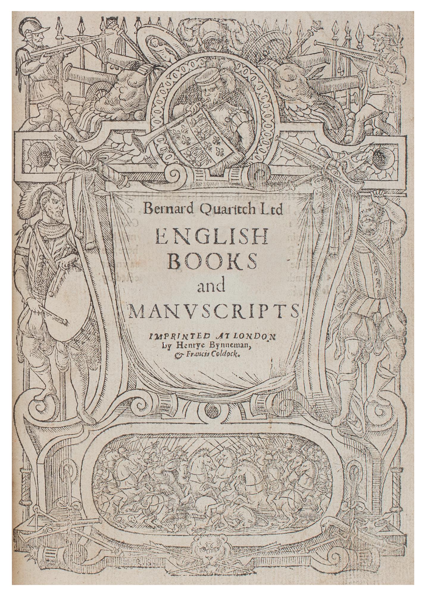 1443 - English Books & Manuscripts